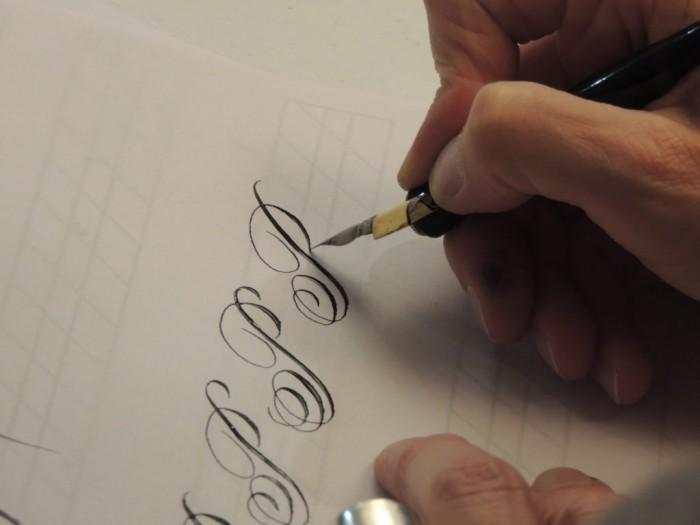 Corso di Calligrafia con inchiostro naturale